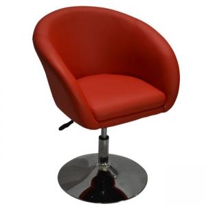 Кожено Кресло AIR,хром.