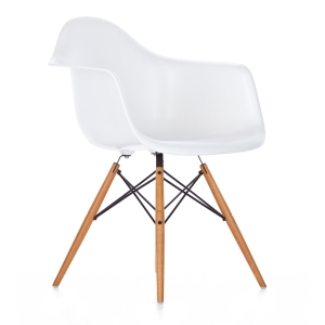 Стол Алея ЕМ 129,бял,дърво,метал