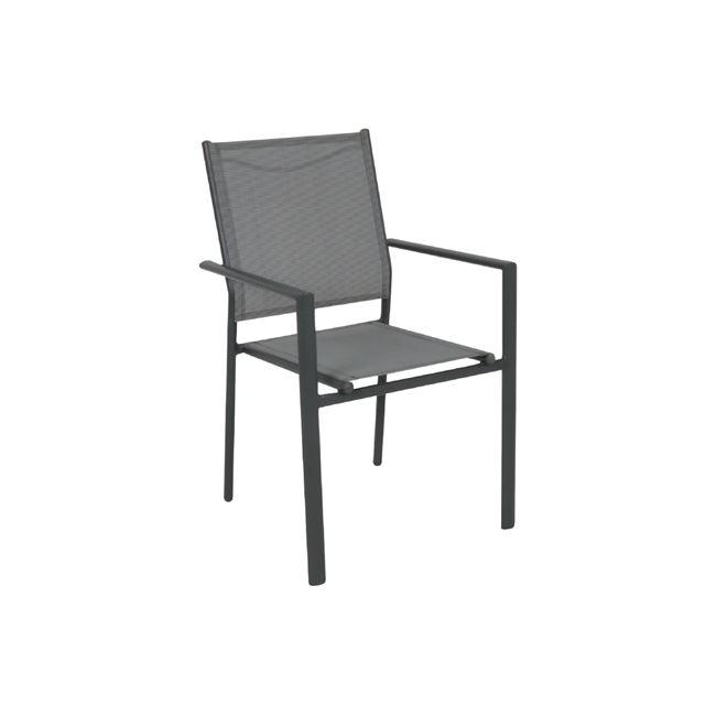 градински стол сив lanson