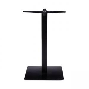 черна стоманена стойка за маса Prato 065