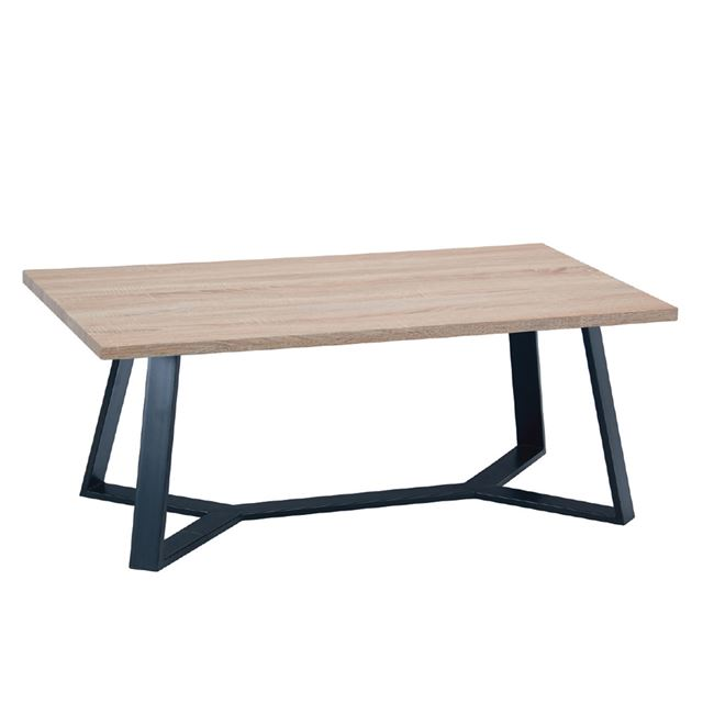 холова маса с дървен плот hanson EM 755,1