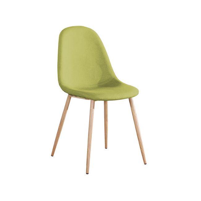 зелен Стол Селина 2,метал,дамаска