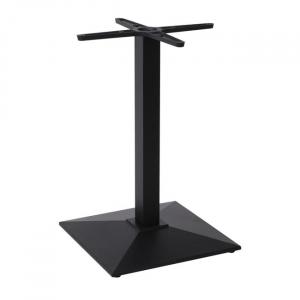 черна стойка за маса,чугун,метал,Е073