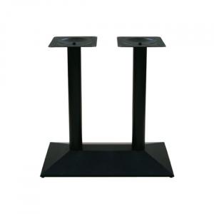 черна стойка за маса ,двойна,чугун,метал,Е0730