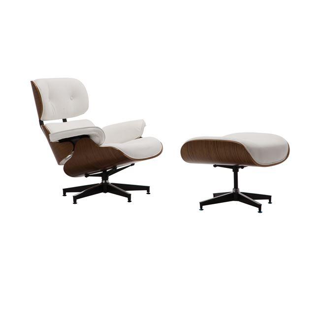 Кресло Релакс бяло