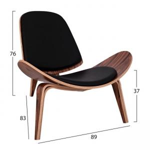 Кресло Супериър +,дърво,кожа