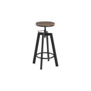 метален черен бар стол Йорк
