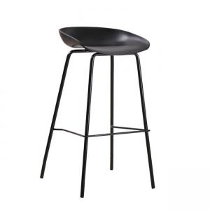 черен стол метал,полипропилен PENTOS