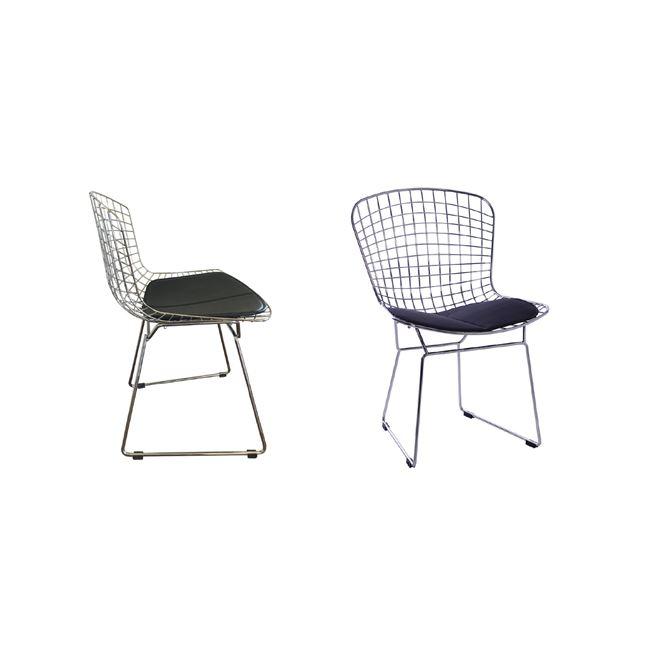 хромиран метален стол Саксън E5142