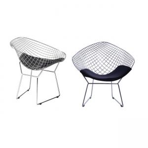 хромирано кресло Саксън E 5149