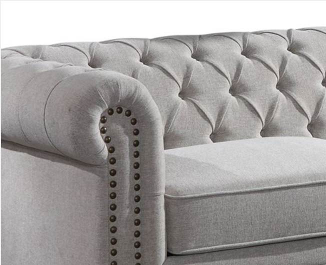 Extendable sofa bed Chesterfield