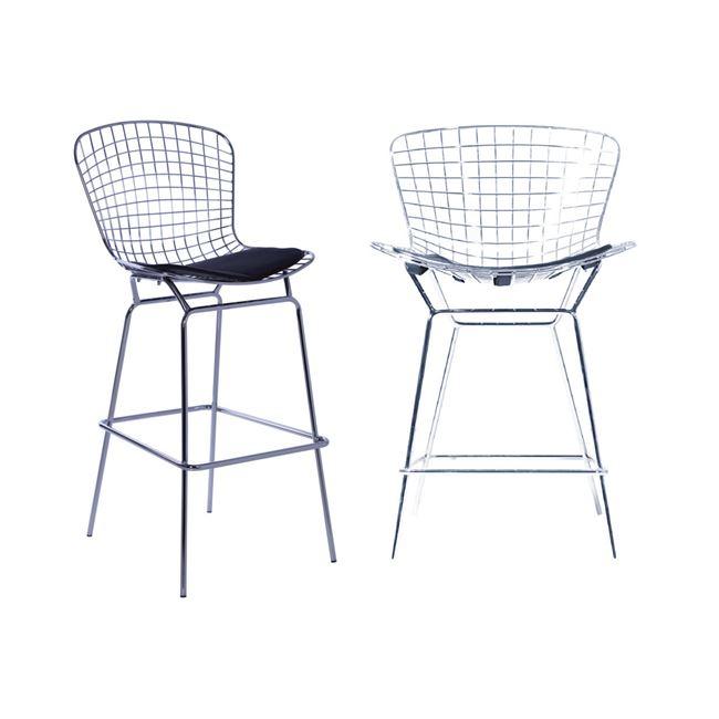 хромиран бар стол Saxon E5136,1