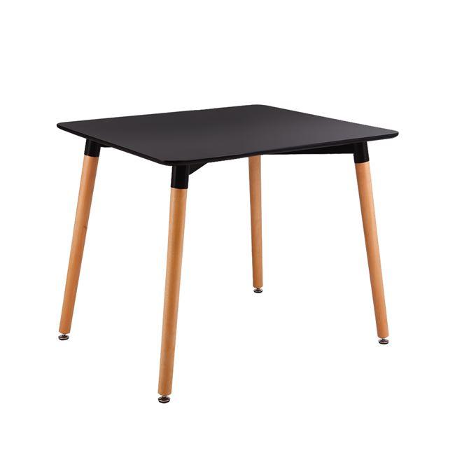 черна трапезарна маса,дърво