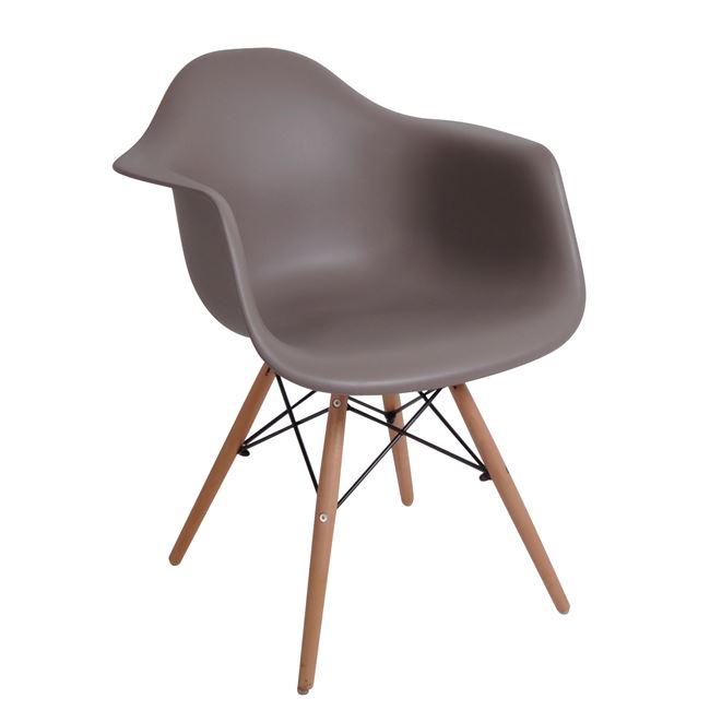 кафяв трапезарен стол ЕМ 129,9