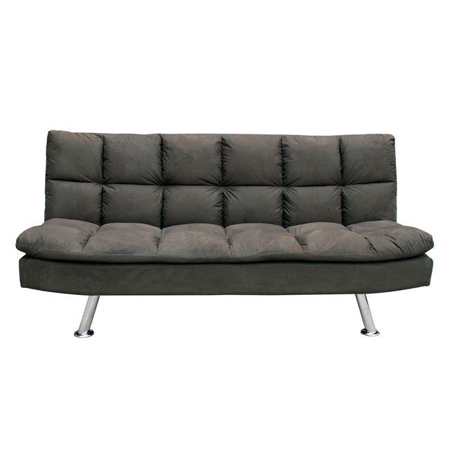 кафяв разтегателен диван с дамаска