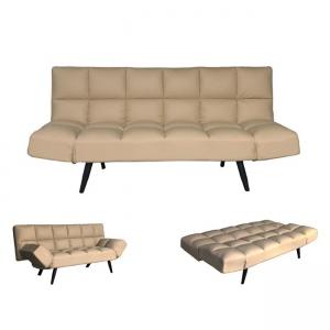 бежов разтегателен диван