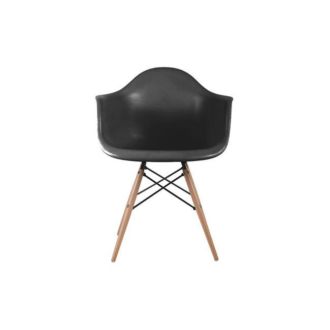 ЕМ 129,2,черен стол,трапезарен