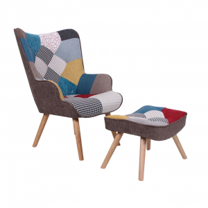Кресло с табуретка Марон