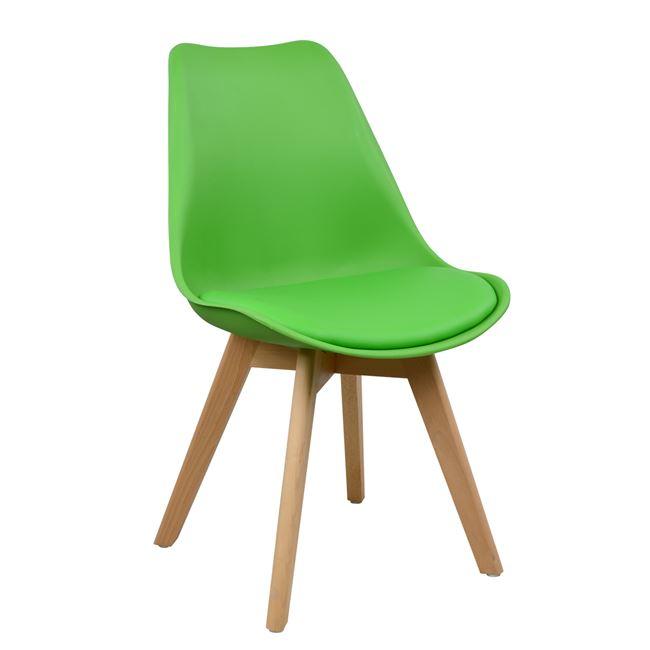 зелен стол трапезен
