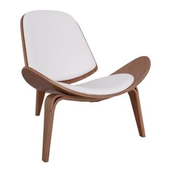 бяло кресло,череша,масив