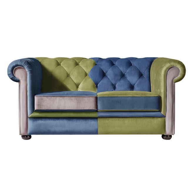 цветен диван двоен,дамаска,modena 2