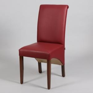 дървен стол масив бук с дамаска или кожа.Модел Тондо
