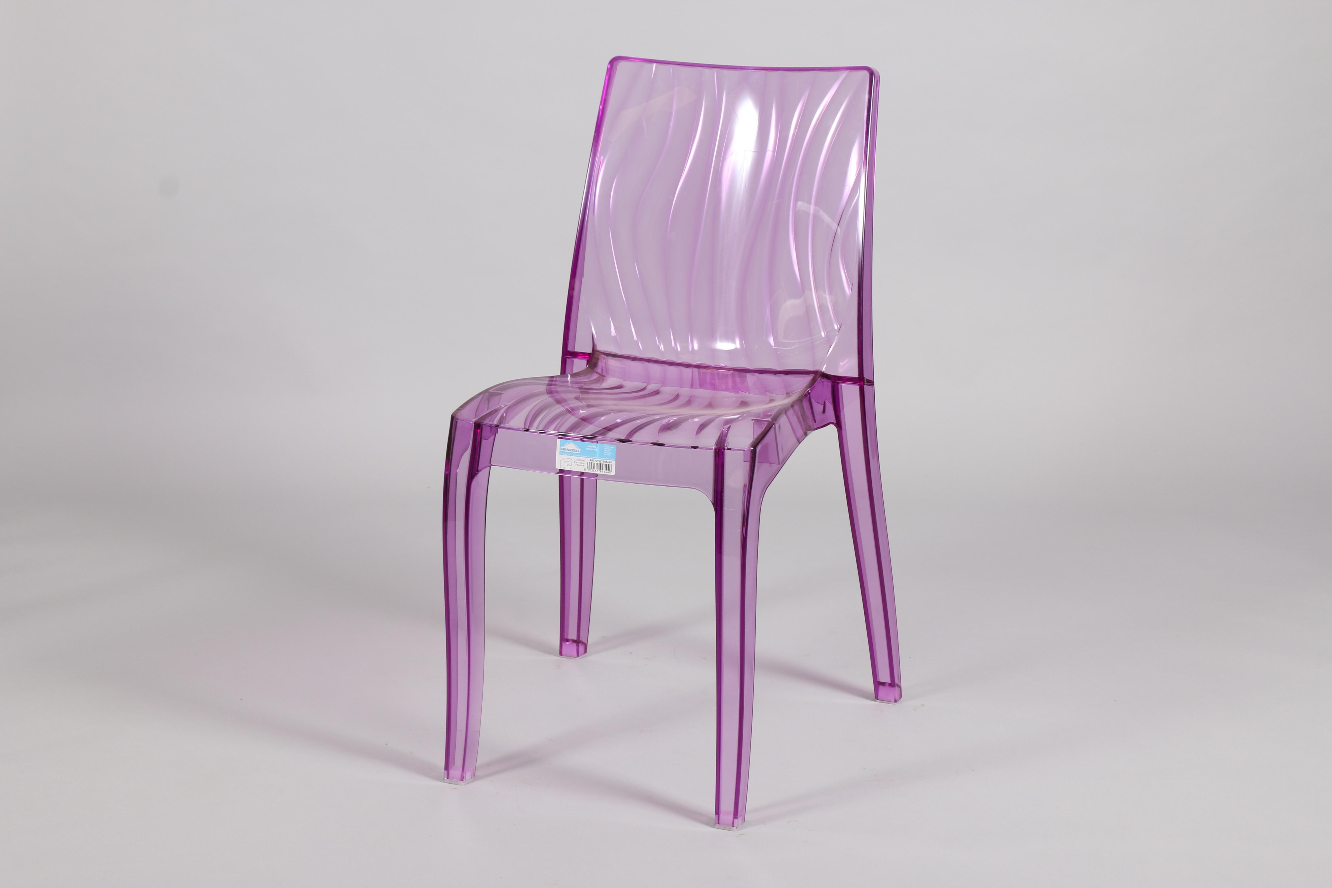 Лилав стол от поликарбон