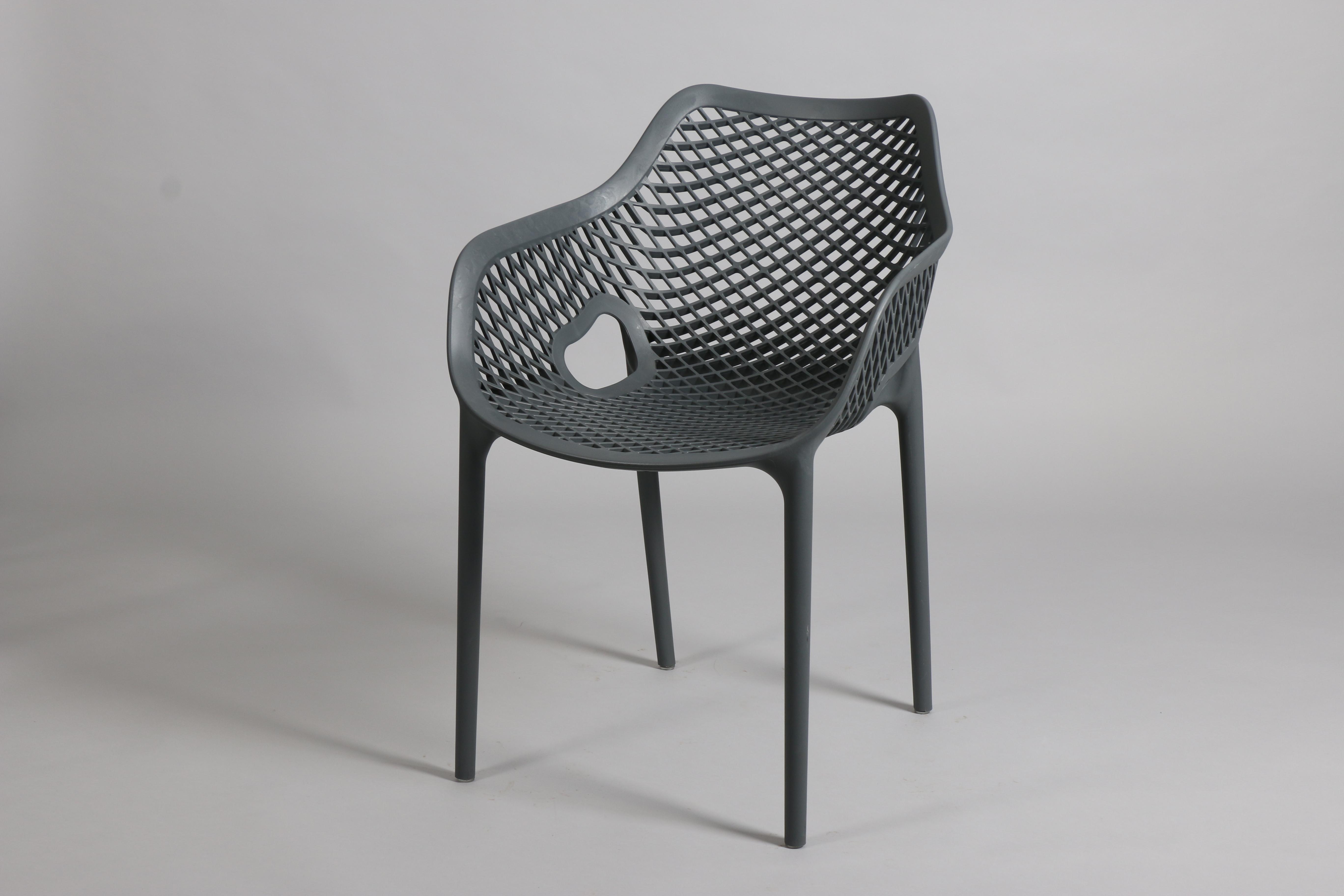 сив стол градински от полипропилен,пластмаса