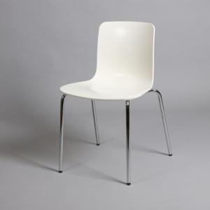 бял стол с метална хромирана конструкция IMG_5699