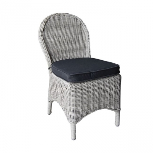 сив алуминиев стол Montana chair grey