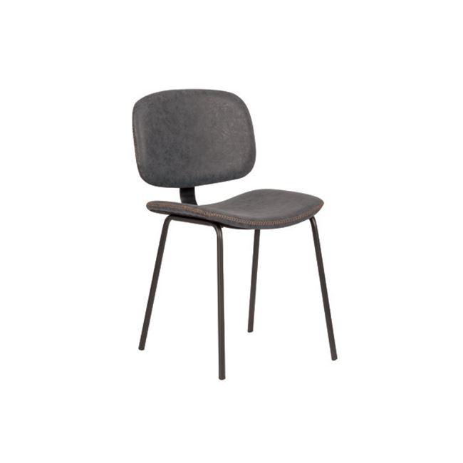 сив стол метален berley grey