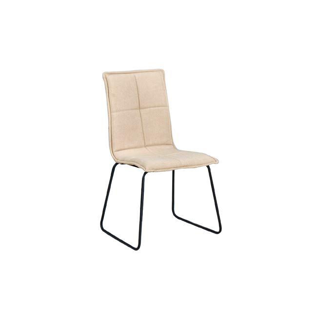 бежов стол с метална черна конструкция cooper3