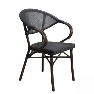кафяв алуминиев стол costa