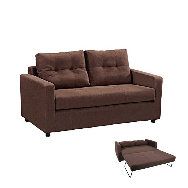 кафяво разтегателно канапе devon sofa
