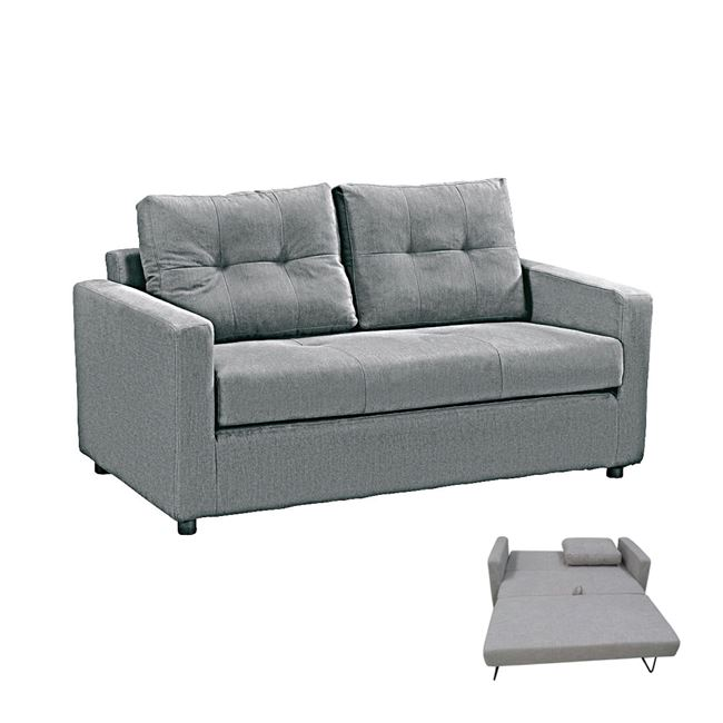 сиво разтегателно канапе devon sofa grey