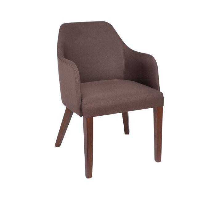 кафяв дървен стол edward 2
