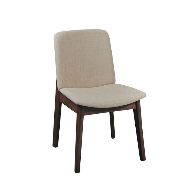 дървен стол ,бежов,emma