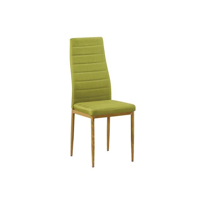 зелен,метален,трапезарен стол jetta