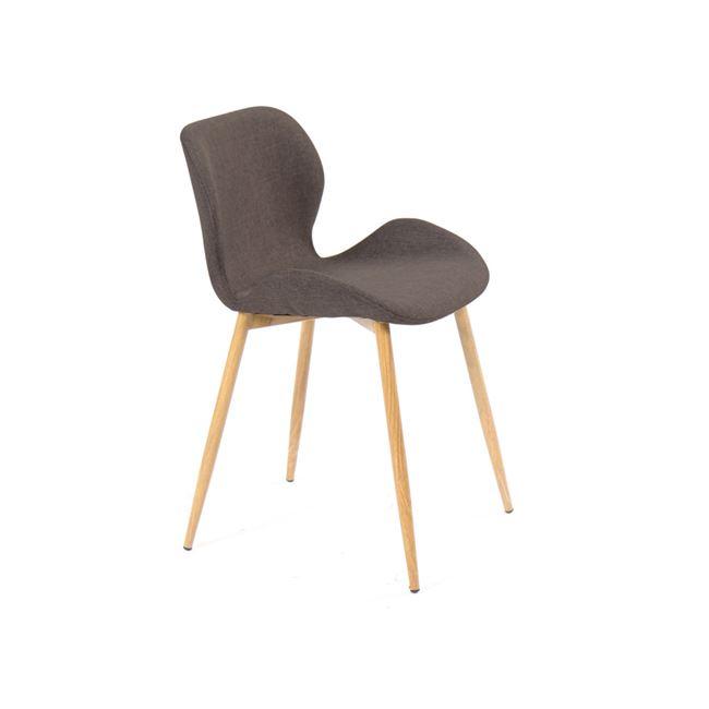кафяв трапезарен стол lilian 7