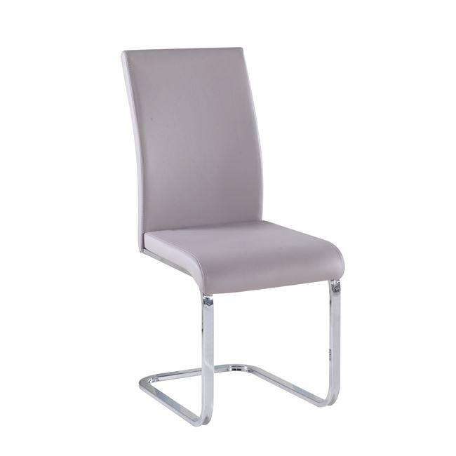 бежов метален стол marilyn 1