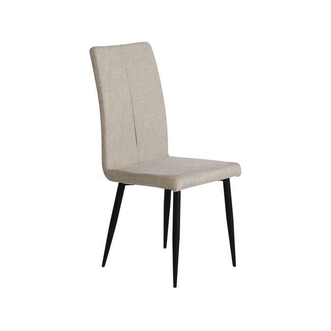 бежов стол ,метален miana3