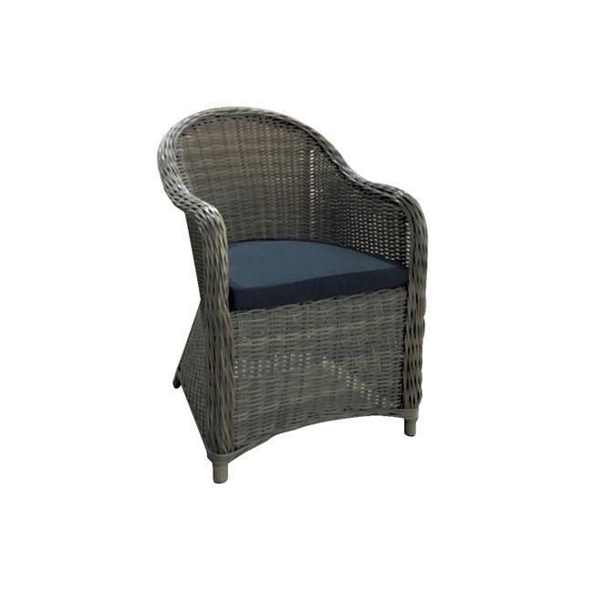 кафяв алуминиев стол montana grey-brown