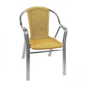 алуминиев градински стол polo beige