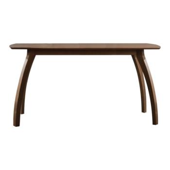 кафява дървена трапезна маса veronica table