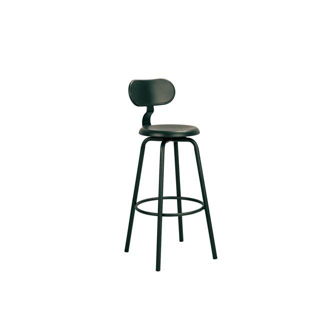 черен,градински,метален бар стол 5139,1