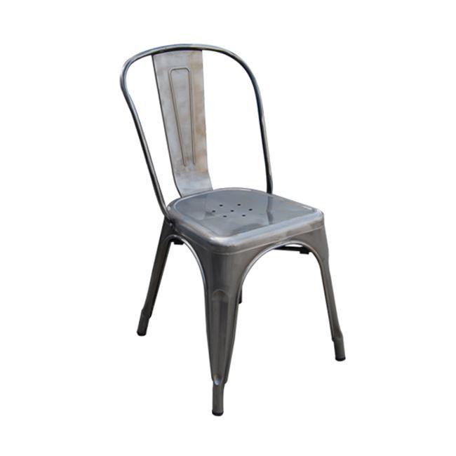сив градински метален стол 5191,6