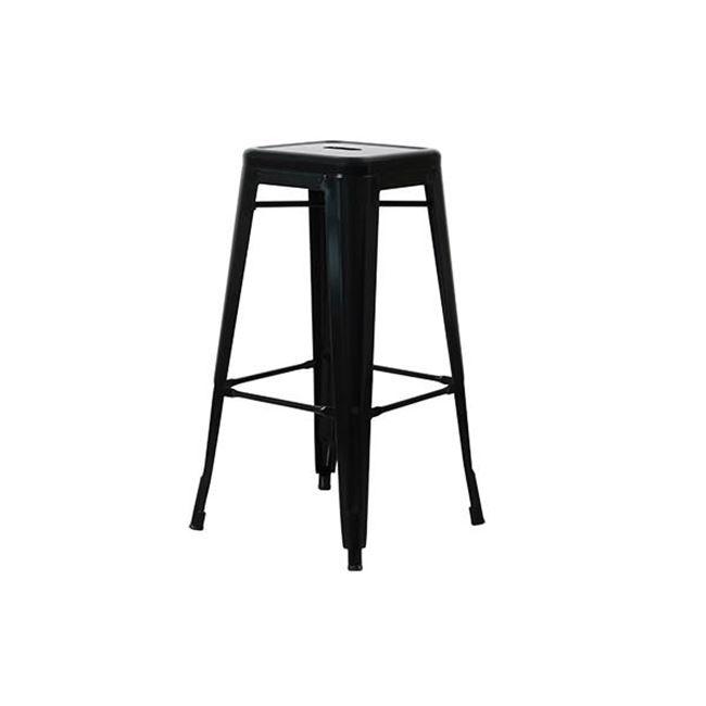 черен метален бар стол E 5190,1