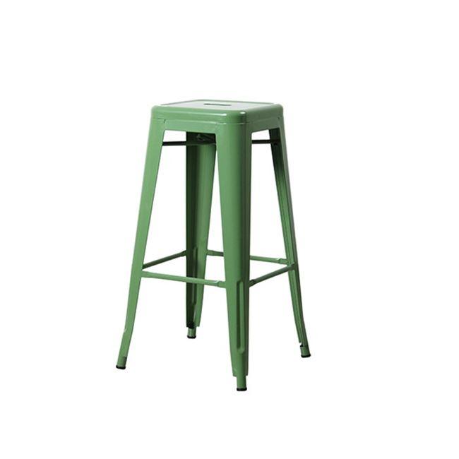зелен метален бар стол E 5190,3