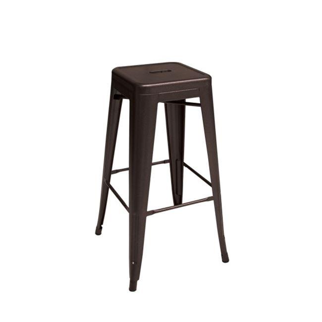кафяв метален бар стол E 5190,50