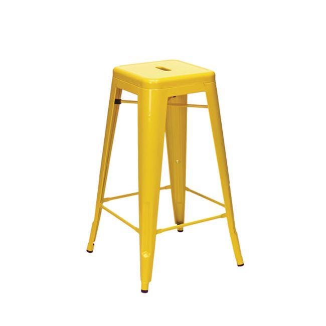 жълт метален бар стол E 5190,9